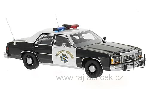 Ford LTD Crown Victoria police 1:43 BoS-Models