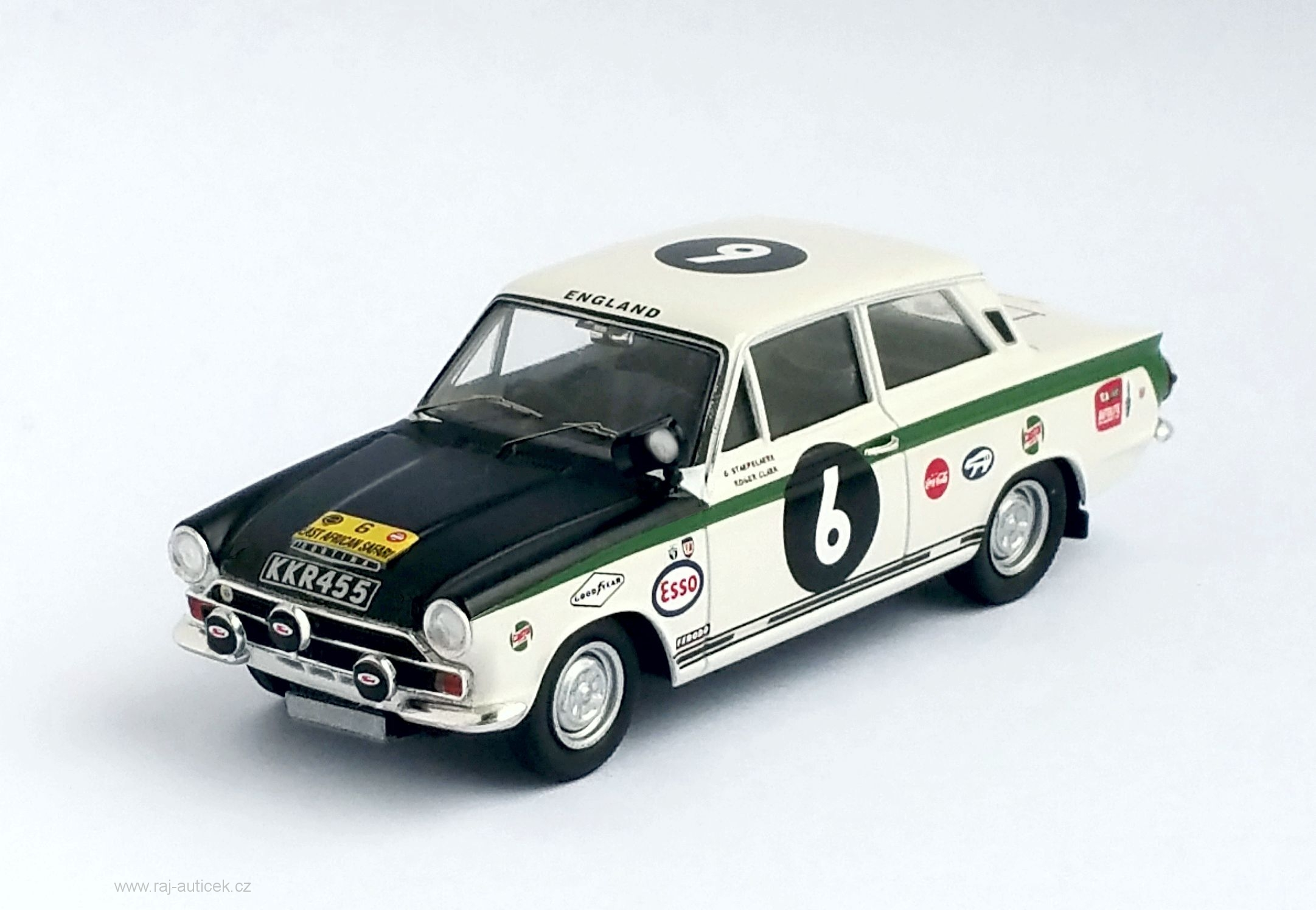 Ford Cortina MK I, No.6 1:43 Trofeu