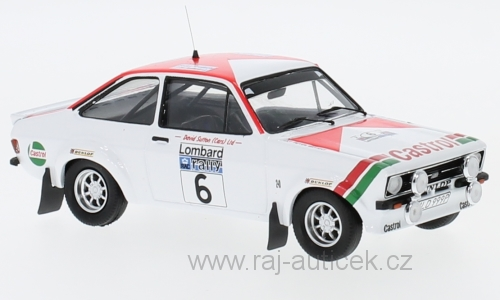 Ford Escort MK2 RS 1800, No.6 1:43 Trofeu