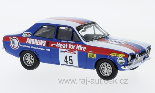 Ford Escort MKI RS2000, RHD, No.45, Tour of Great Britain 1:43 Trofeu