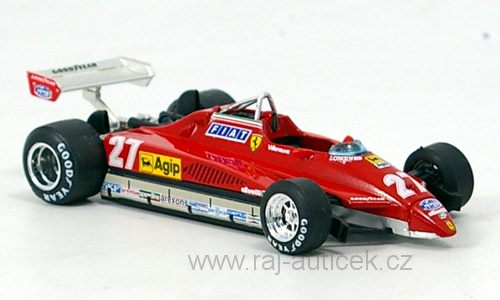 Ferrari 126 C2 Turbo, No.27 1:43 Brumm