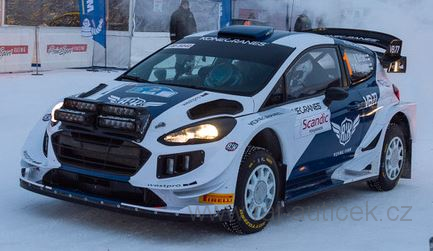 Ford Fiesta RS WRC, No.1 Bottas, Rally Artic Lapland 2019 1:43 IXO
