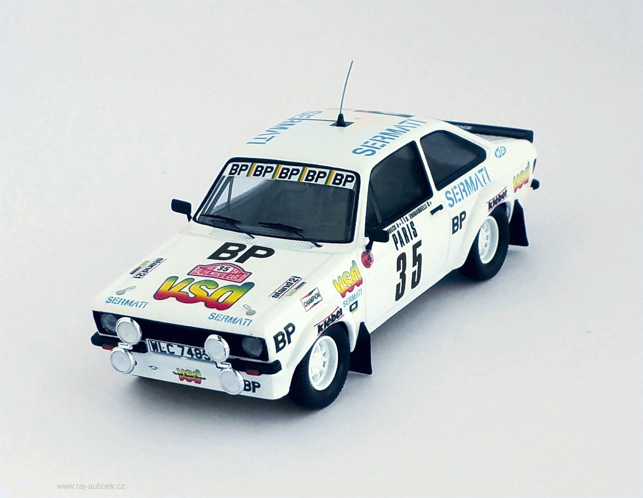 Ford Escort MK II RS 1800, No.35 1:43 Trofeu
