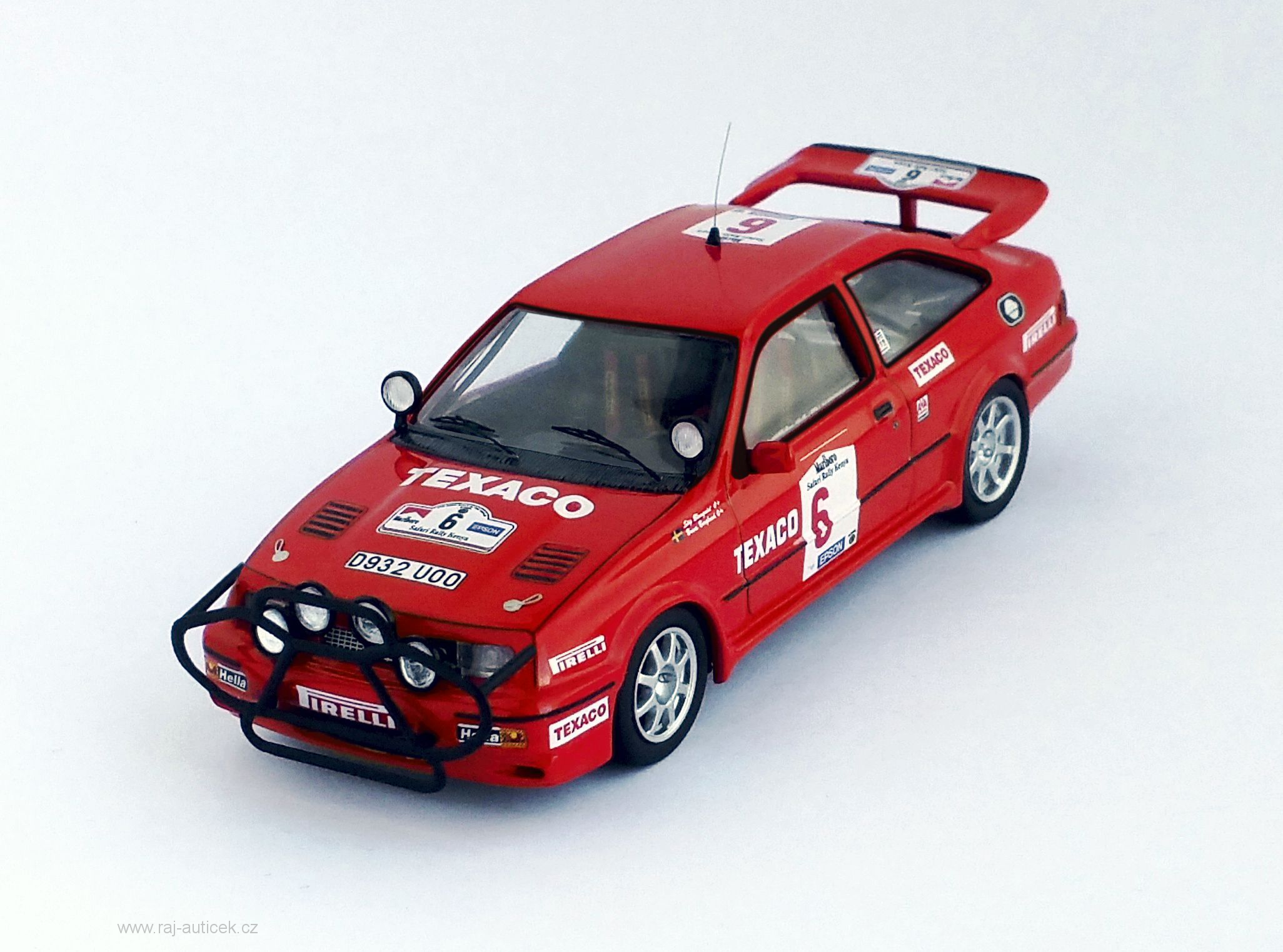 Ford Sierra RS Cosworth, No.6 1:43 Trofeu