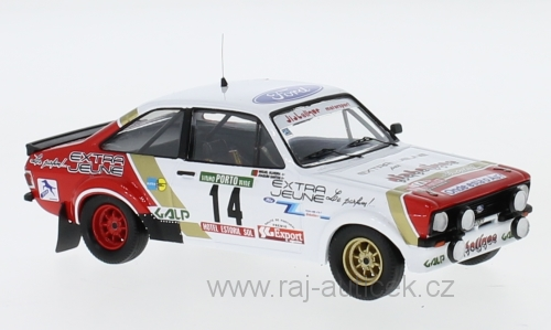 Ford Escort MK II RS 1800, No.14 1:43 Trofeu