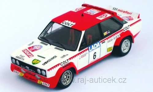 Fiat 131 Abarth, No.6 T. Makinen 1997 1:43 Trofeu
