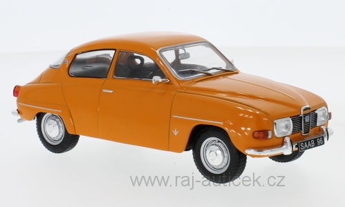 Saab 96 V4 1:24 Whitebox