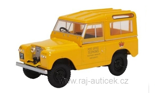 Land Rover Series II SWB Hard Top 1:43 Oxford