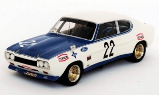 Ford Capri 2600 RS, No.22, Messia, Villa Real 1972 1:43 Trofeu